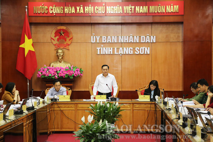 Provincial People's Committee convened its regular meeting in April (the 2nd session)