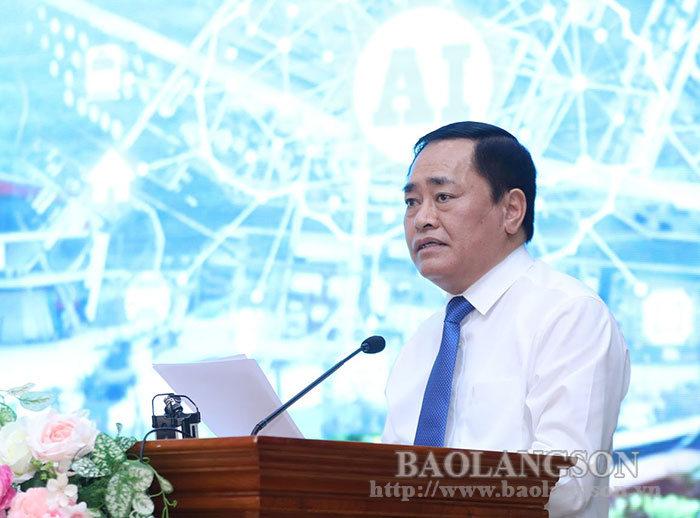 Lang Son: Promoting the development of digital economy