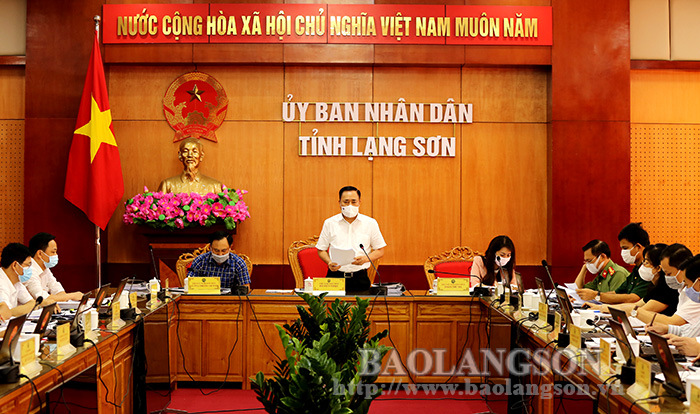 The Provincial People's Committee a regular meeting of July 2021
