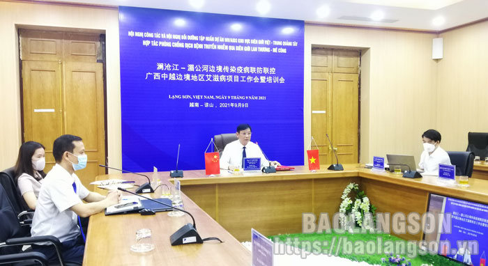 Cooperation in the disease prevention and control in the border area between four provinces of Viet Nam and Guangxi Zhuang Autonomous Region, China