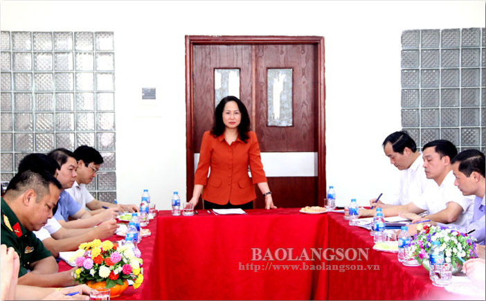 Lang Son authorities inspect relocation of General Hospital