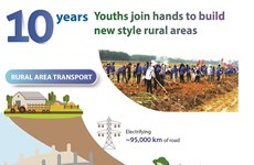 10 years youths join hands to build new style rural areas