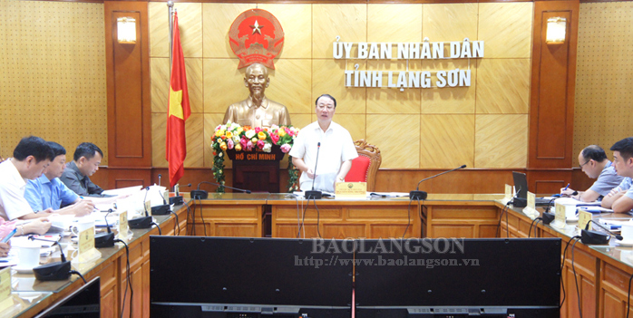 Lang Son council for land price verification convenes meeting