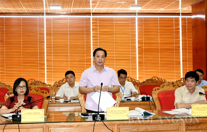 Lang Son: provincial People's Council supervises provincial People's Committee implementing resolutions on agricultural and rural development