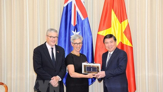 Australia's Victoria State to open trade-investment office in HCM City