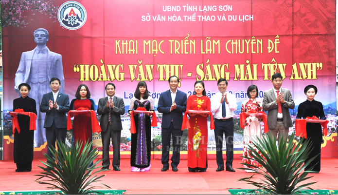 Thematic exhibition on Hoang Van Thu opens