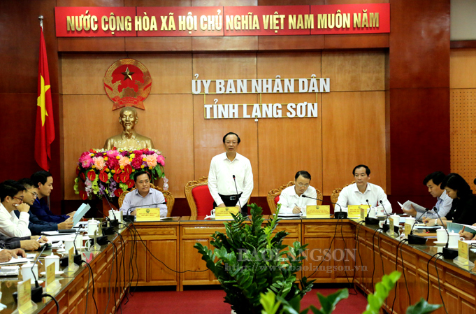 Lang Son reviews organisation of investment promotion conference