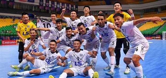 Thai Son Nam enter AFC Futsal Club Championship semifinals