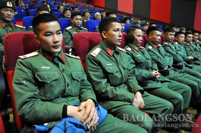 Opening ceremony the film week to celebrate 76th establishment anniversary of the Vietnam People's Army