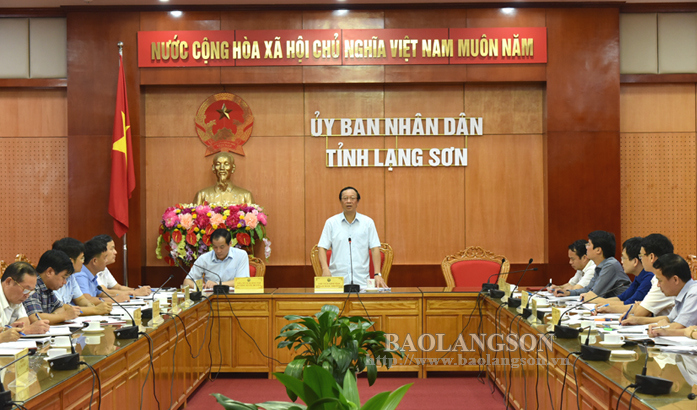 Lang Son leaders inspect preparations for commemorating 110th birth anniversary of Hoang Van Thu