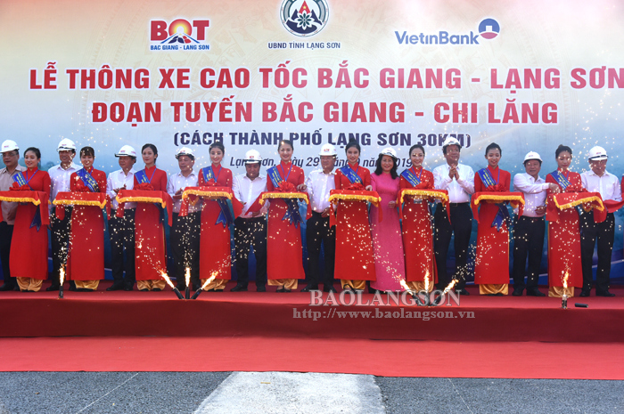 First section of Bac Giang – Lang Son Expressway technically open