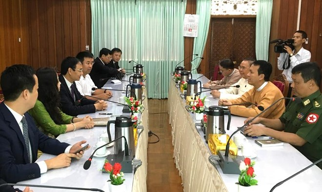 Hanoi delegation pays working visits to Myanmar, Brunei