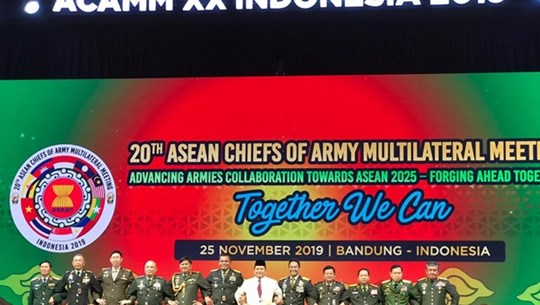 ASEAN army chiefs gather in Indonesia