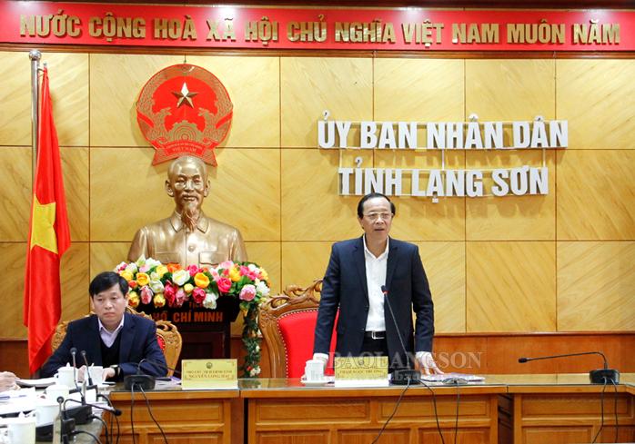 谅山省人民委员会领导同教育与培训厅举行工作座谈会