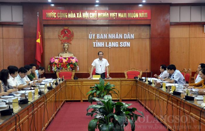 """第十一届""""越北遗产之地""""旅游计划组委会召开会议"""