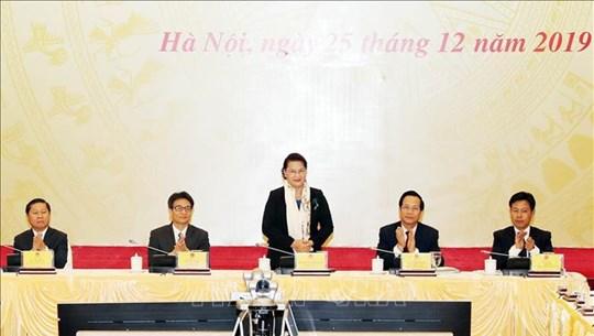 阮氏金银出席劳动荣军与社会部2020年工作任务部署会议