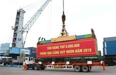 2019年归仁港货物吞吐量同比增长9%