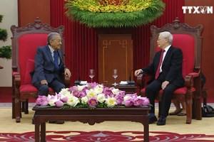 阮富仲高度评价越南与马来西亚两国关系的发展势头