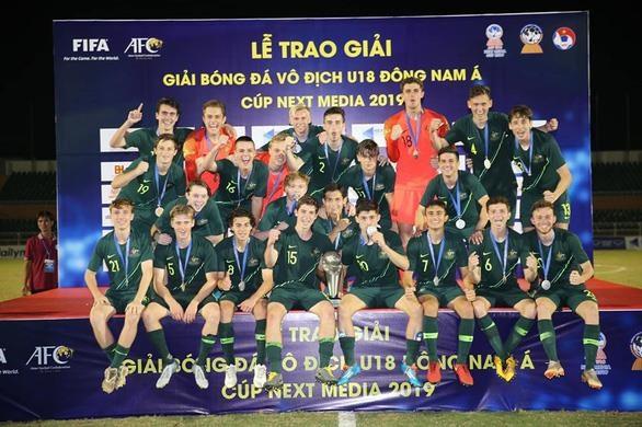 2019年东南亚U18足球锦标赛:澳大利亚队夺冠