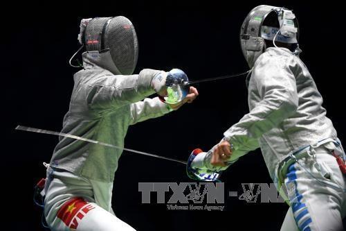 越南击剑队提出在第30届东南亚运动会获四枚金牌的目标