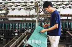 网具编织业为南定省人民提供数千个就业机会
