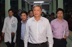越南卫生部副部长高度评价岘港市新型冠状病毒感染肺炎疫情防控工作