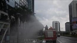 新冠肺炎疫情:印尼建立更多野战医院 新加坡禁止10人以上聚会