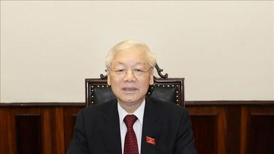 """越共中央总书记、国家主席阮富仲值""""全民献血日""""之际向全国同胞、同志和战士致信"""