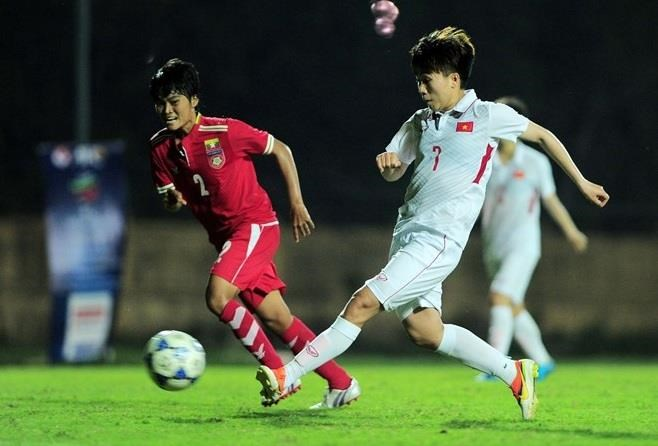 2019年东南亚女子足球锦标赛:越南队狂扫缅甸队名列B组第一