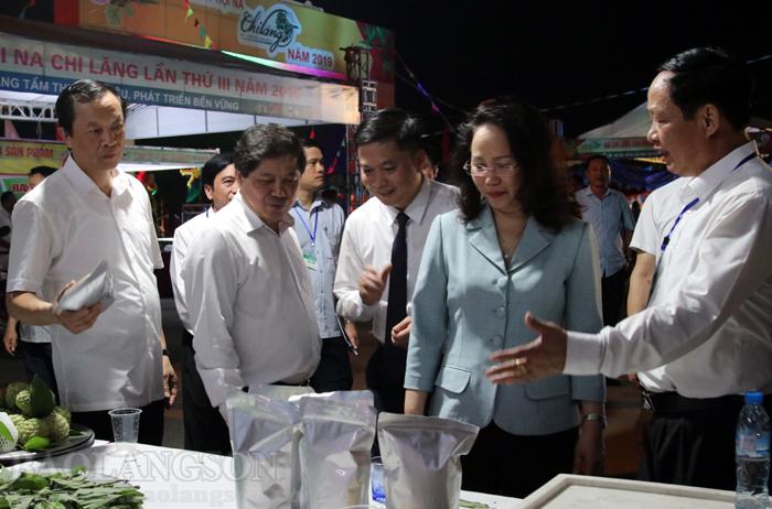 谅山省第三届芝陵番荔枝节开幕