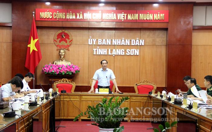谅山省人民委员会考虑在各酒店建立集中医学隔离设施