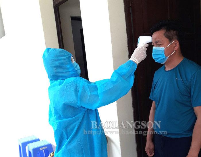 谅山省:首批48名外籍人员结束在酒店隔离观察