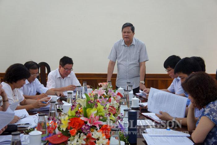 中央宣传部考察团在谅山进行了调查