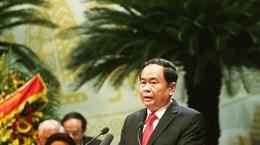 越南祖国阵线第九次全国代表大会今日开幕