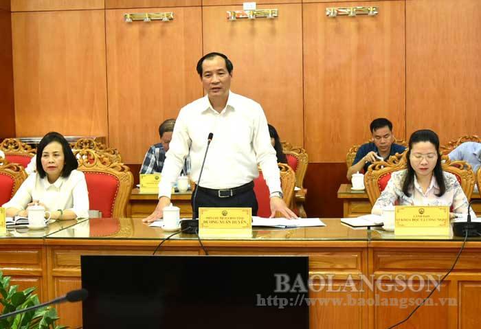 国会民族委员会监督组与谅山省热安民委员举行工作会谈