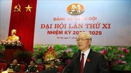 越共中央总书记、国家主席阮富仲:建设清正廉洁、率先垂范的军队党委