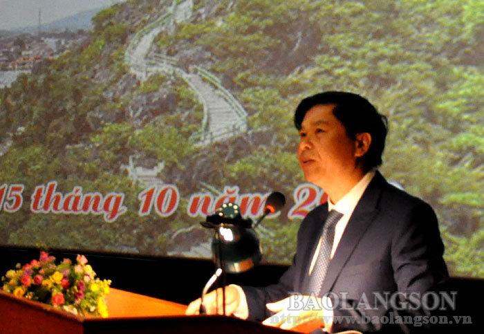 举行庆祝秋冬边界大捷70周年电影周开幕式既谅山解放日纪念典礼。