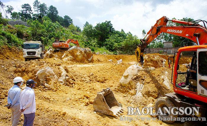 谅山市加快重点项目建设