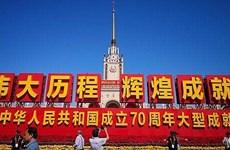 越南党和国家领导人祝贺中华人民共和国成立70周年