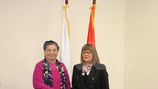 越南国会进一步增进与塞尔维亚国民议会和澳大利亚联邦议会的合作