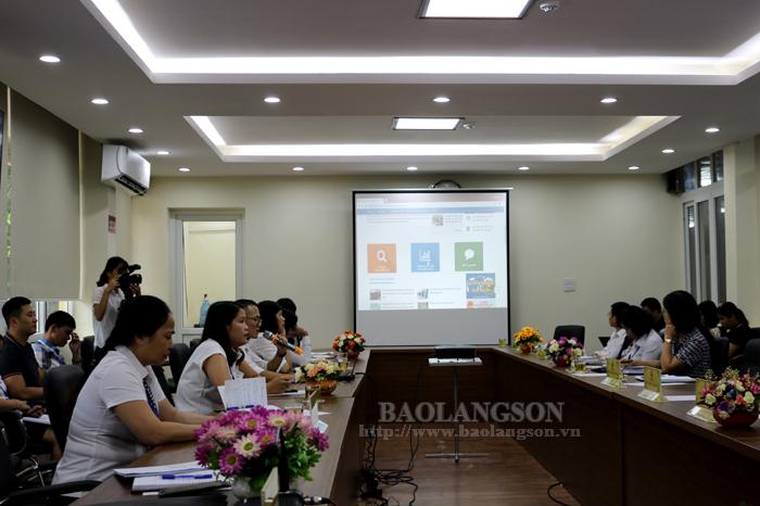 谅山省公共行政服务中心网站暨官方Zalo公众平台正式亮相