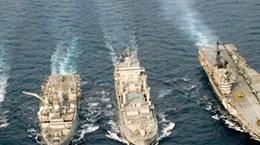 印度与泰国海军开展第二次联合演习