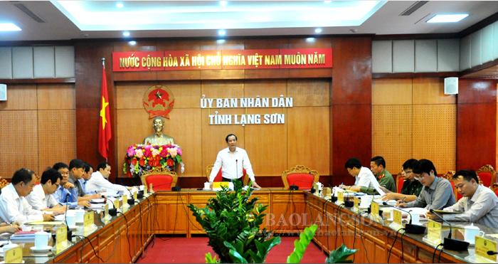 谅山省人民委员会对旅游发展提案草案进行审议