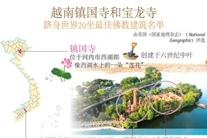 图表新闻:越南镇国寺和宝龙寺跻身世界20坐最佳佛教建筑名单