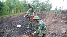 东盟将性别问题纳入战争遗留炸弹地雷行动计划中