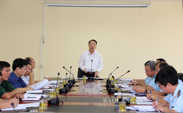 谅山省人民委员会领导与省海关局举行工作座谈会