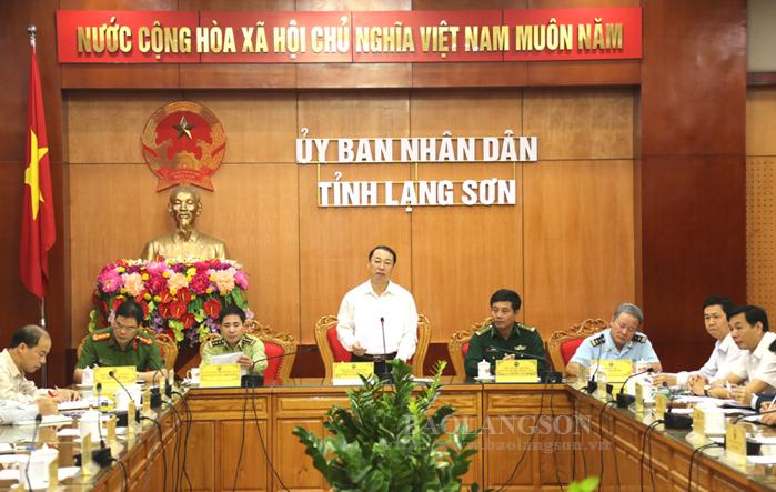 谅山省举行今年前9月反走私活动初步总结会议