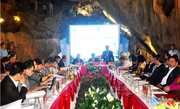 关于谅山省遗迹区的学术研讨会举行