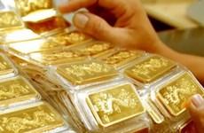 10月29日越南国内黄金价格下调近20万越盾