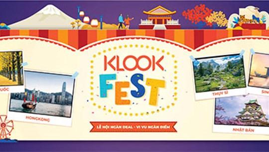 2019年Klook Travel Fest将在胡志明市举行